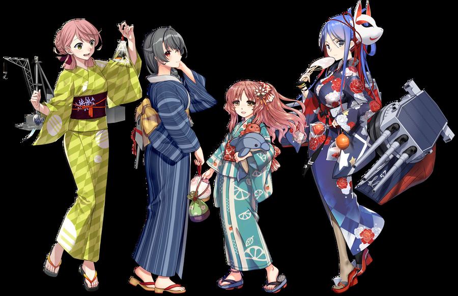 2020追加【浴衣】mode艦娘