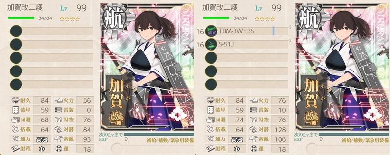 加賀改二護と新装備シナジー