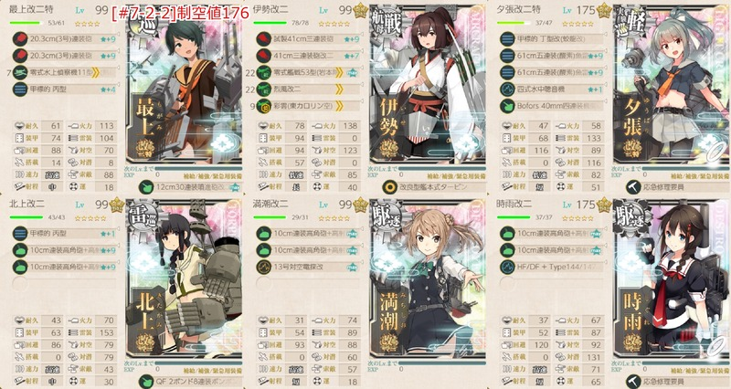 [#7-2-2]編成:西村艦隊、精鋭先行掃討隊、前進せよ!