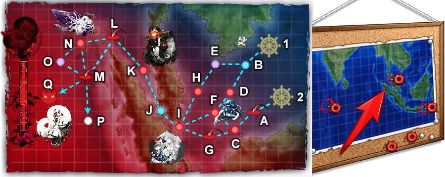 「謎の夏作戦地図」:中