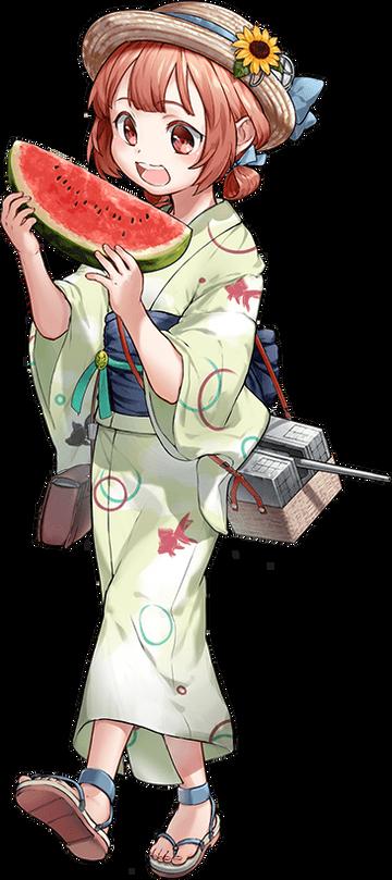 【浴衣】第四号海防艦