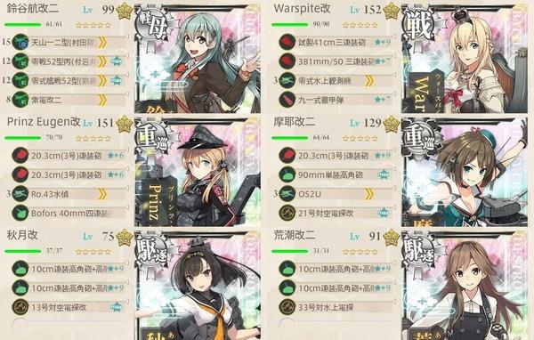 6-2編成(改装攻撃型軽空母、前線展開せよ!