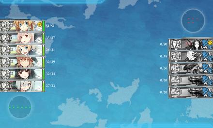 1-3:五周年任務 【弐:鎮守府海域警戒】