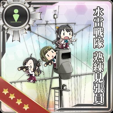 水雷戦隊 熟練見張員