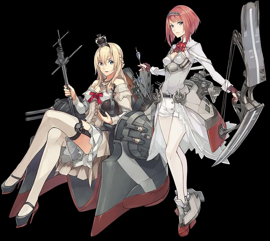 WarspiteとArk Royal
