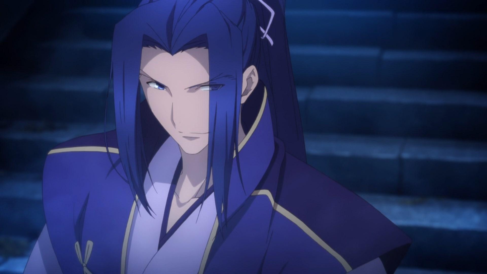 Sasaki Kojiro Fate Stay Night Assassin Vs Diramuid Ua Duibhne Zero Lancer