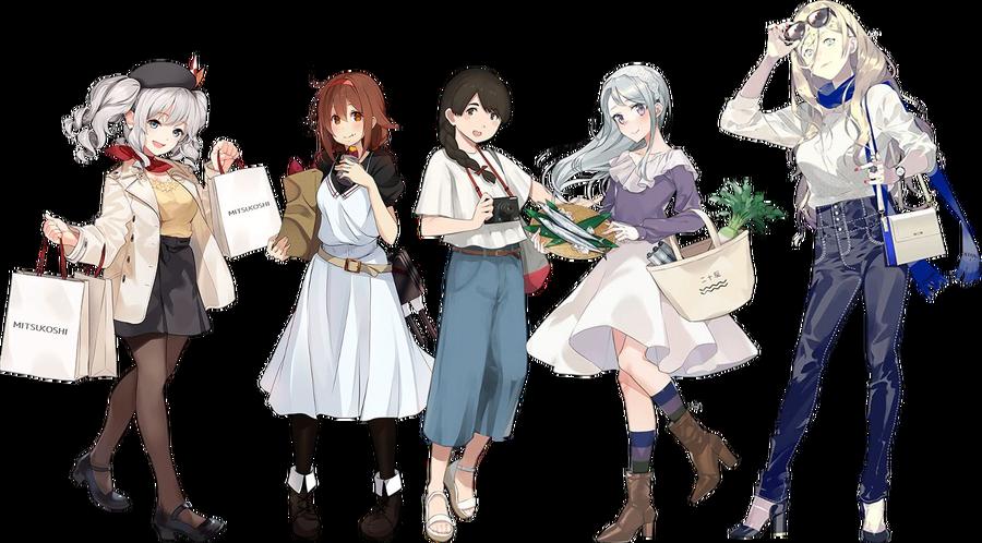 「秋の私服/お買い物/観艦式」mode