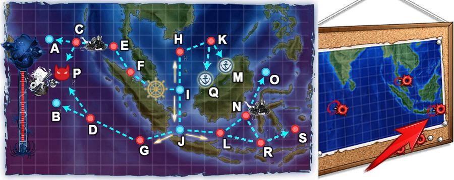 「謎の夏作戦地図」右
