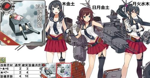 15.2cm連装砲(阿賀野能代矢矧