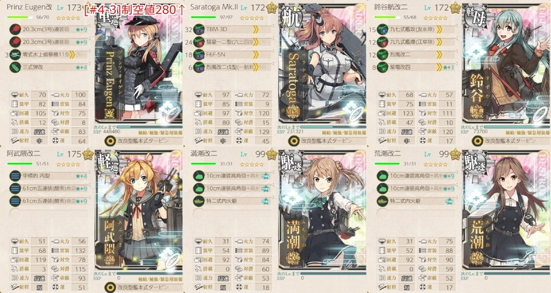 [#4-3]編成:合同艦隊機動部隊、出撃せよ!
