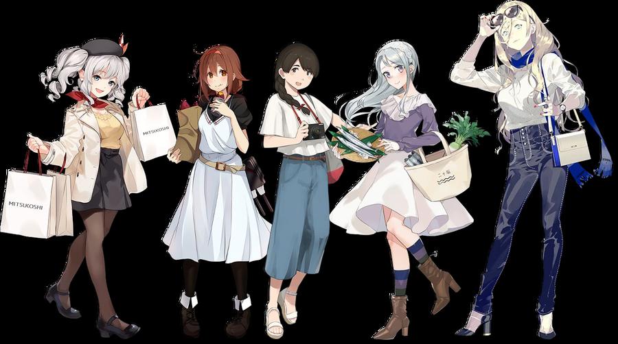 「秋の私服/お買い物/観艦式」mode s