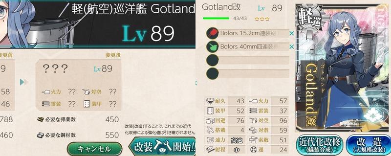 「Gotland」改造