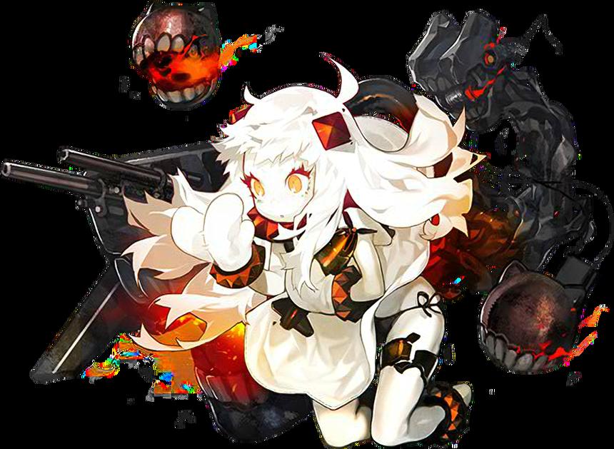 【秋刀魚?】北方棲姫