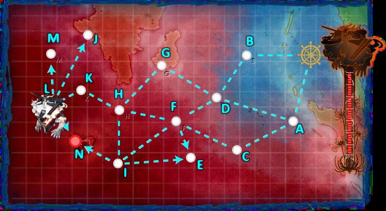 2015春イベント E5 アンズ環礁泊地攻撃作戦