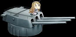 16inch Mk.I三連装砲combi