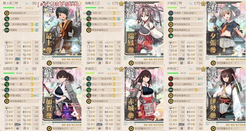 [#4-5]編成:改装航空巡洋艦「最上」、抜錨せよ!