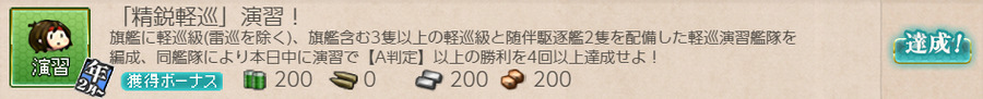 「精鋭軽巡」演習!