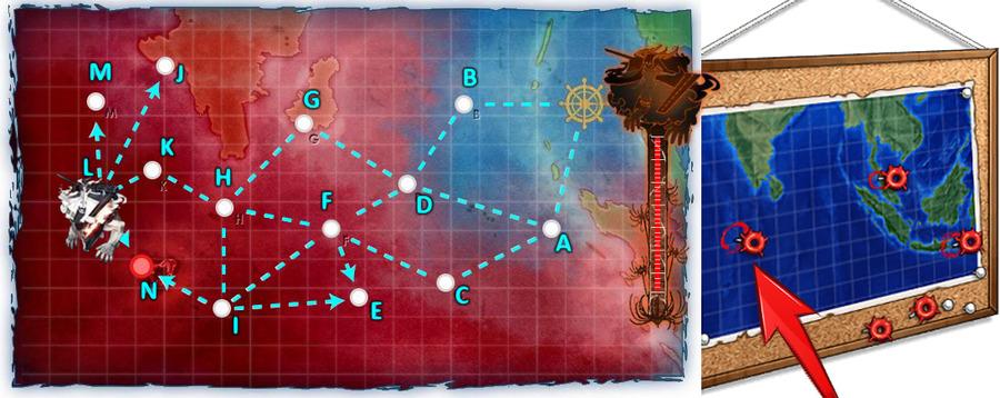 「謎の夏作戦地図」:左