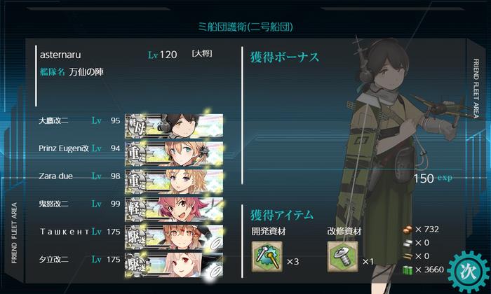 ミ船団護衛(二号船団)