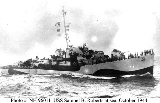USS Samuel B. Roberts, DE-413