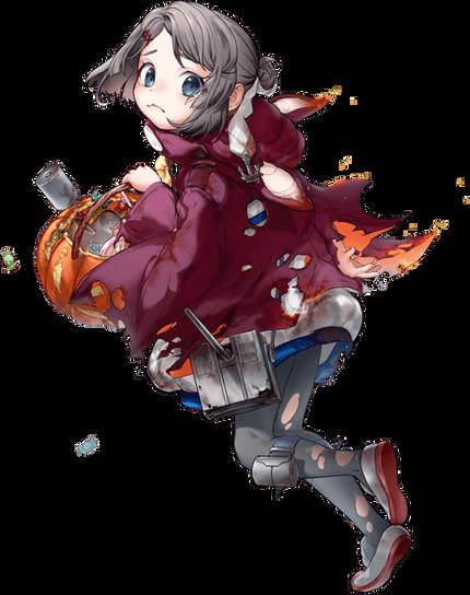 【Halloween】第三〇号海防艦中破