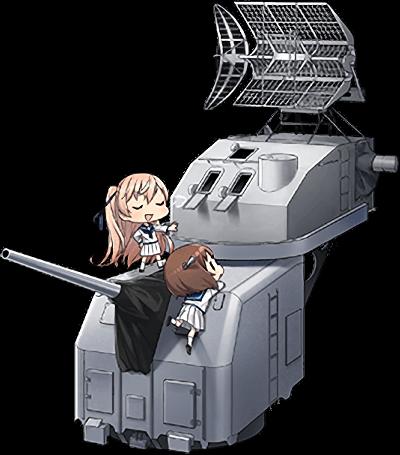 5inch単装砲 Mk.30改+GFCS Mk.37 combi