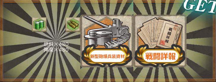 報酬(精鋭駆逐隊、獅子奮迅!