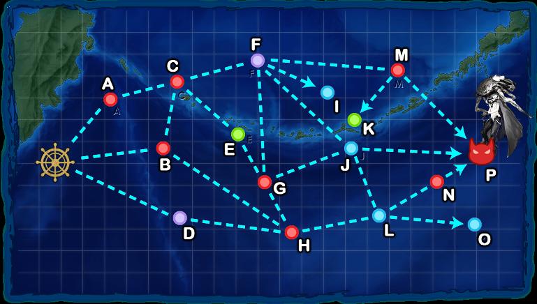 #3-4 北方海域全域 北方海域艦隊決戦