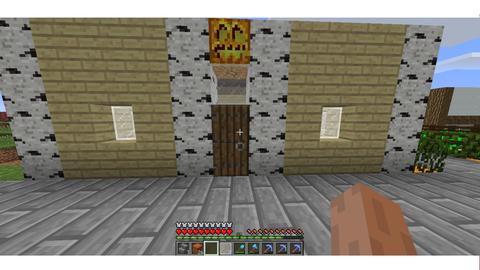 かぼちゃ村民家3