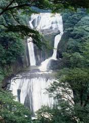 アイスクライミングが盛んな袋田の滝