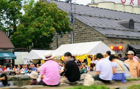 2009年8月の小樽