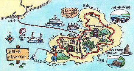 沼島マップ