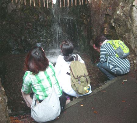 滝行の場所