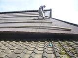 9月2日福地山古民家屋根修理