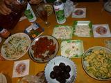 タヒラビル屋上料理1