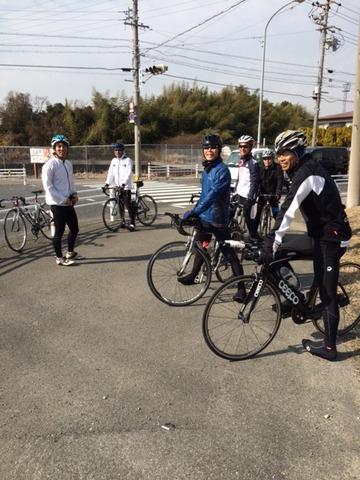 1月21日バイク練習①