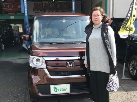 N-BOX G.L HondaSENSING 納車