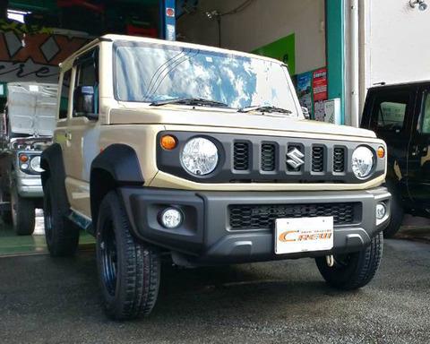 ジムニーシエラ JB74W 納車