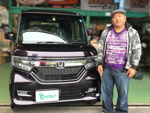 N-BOXカスタムG EX HondaSENSING 納車