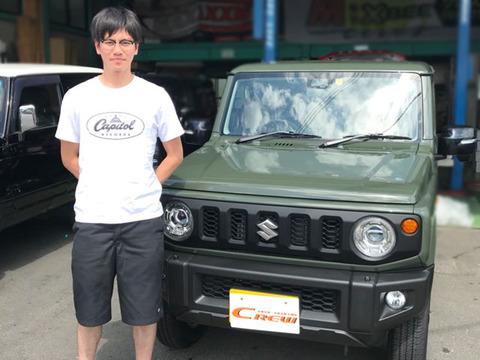 ジムニー JB64W 納車