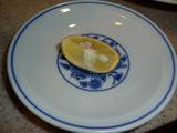 ととち丸 潮(うしお)ラーメン 鯛茶漬けセットの柚子