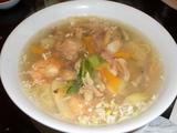 上海家庭料理 七�家 什錦湯麺