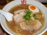 京都千丸しゃかりき 鯵煮干の豚骨のラーメン