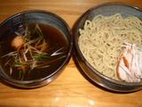 京都千丸しゃかりき 4周年記念鯛醤油つけそば