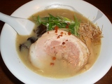 福三 濃厚鶏そば(塩)