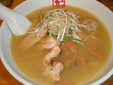 京都千丸しゃかりき 4周年記念秋刀魚節鶏白湯