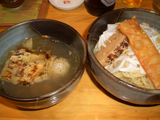 京都千丸しゃかりき 4周年記念鶏と魚貝塩つけそば