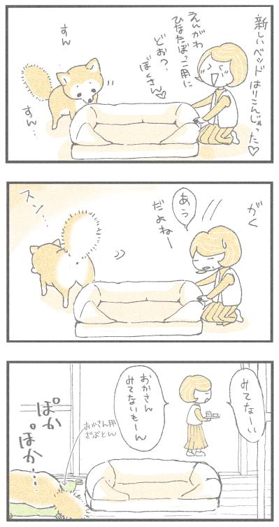 新しいベッド1