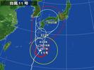 台風11号(20140807)
