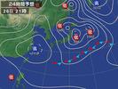 天気図(2013.4.2621:00予想)